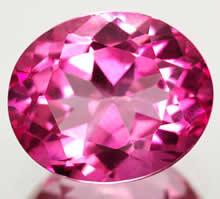 Камень розового цвета фото